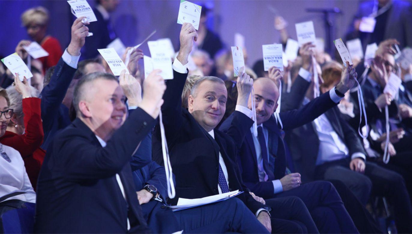 Grzegorz Schetyna apeluje do opozycji o jedność (fot. PAP/Leszek Szymański)