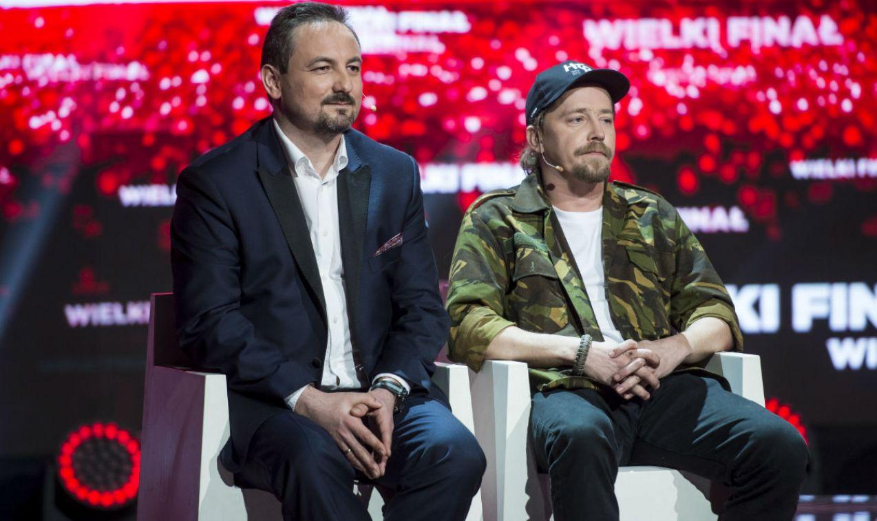 Spokój malujący się na twarzach finalistów był tylko pozorny (fot. J. Bogacz/TVP)