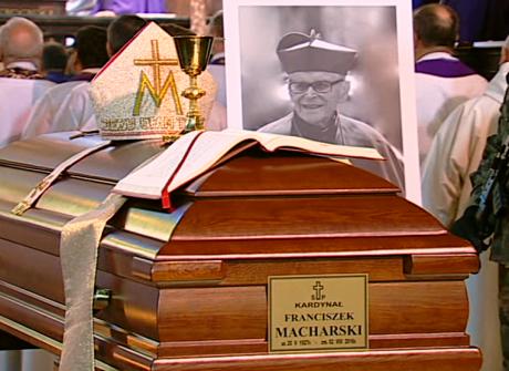 Pożegnanie kardynała Franciszka Macharskiego