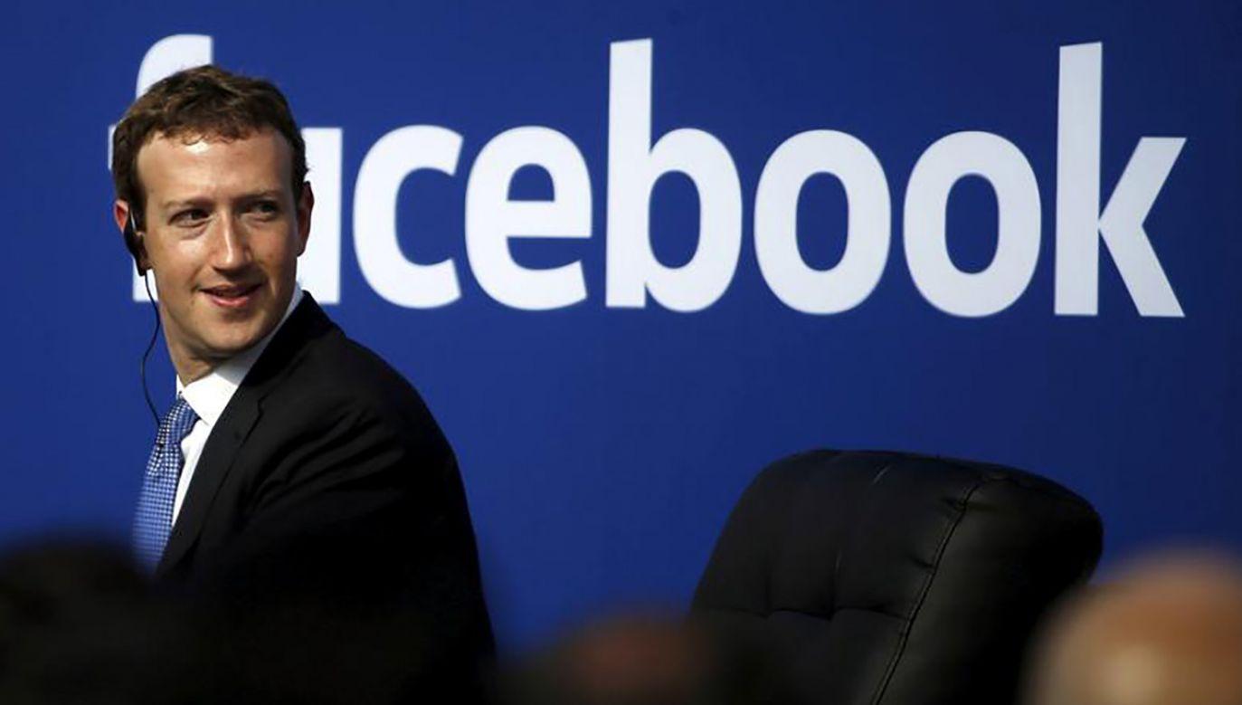 Mark Zuckerberg (fot. REUTERS/Stephen Lam/File Photo)