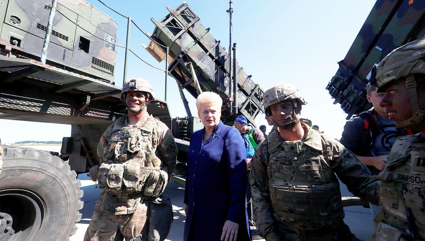 Dalia Grybauskaite (fot.  REUTERS/Ints Kalnins)