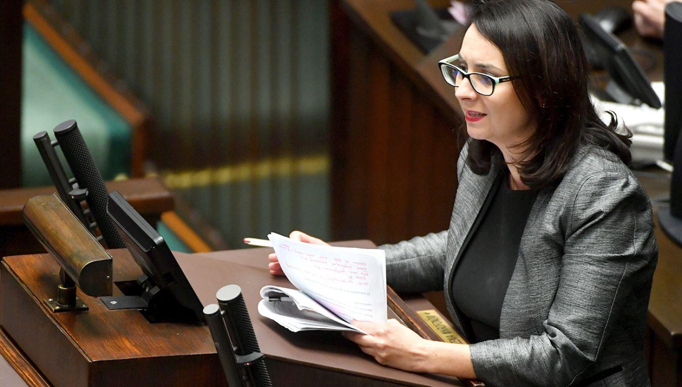 Kamila Gasiuk-Pihowicz (fot. PAP/Bartłomiej Zborowski)