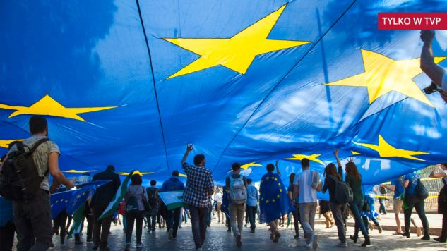 """W programie """"Minęła 20"""" o przyszłości Europy (fot. EPA/ANTONELLO NUSCA)"""