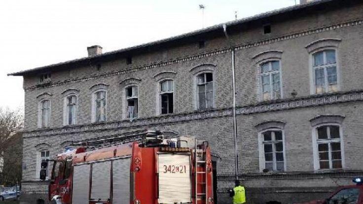 Wybuch gazu w budynku wielorodzinnym