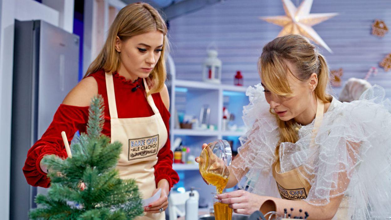 Podczas świąt Miss Polonia Marcelina Zawadzka zawsze pozwala sobie na skosztowanie ciast i ciasteczek (fot. TVP)