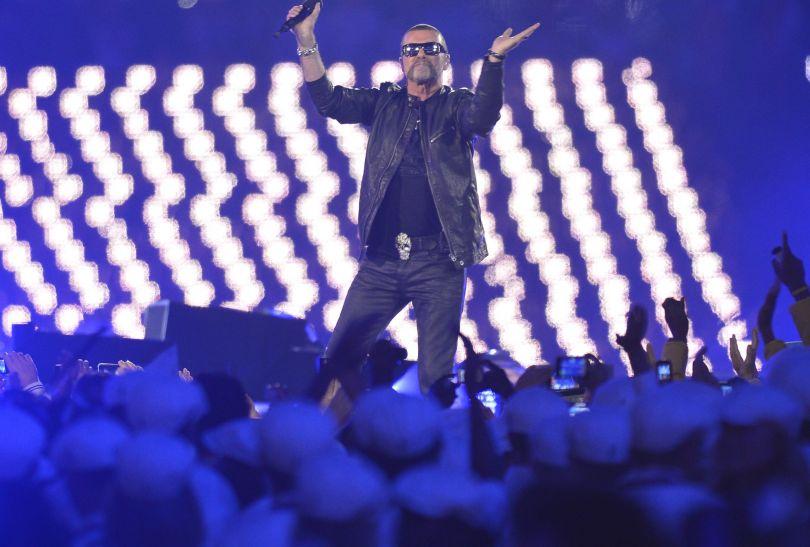 George Michael zachwycił publiczność zgromadzoną na ceremonii (fot. PAP/EPA)