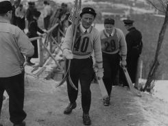 Szwedzki skoczek narciarski Sven Eriksson (fot. Getty Images)