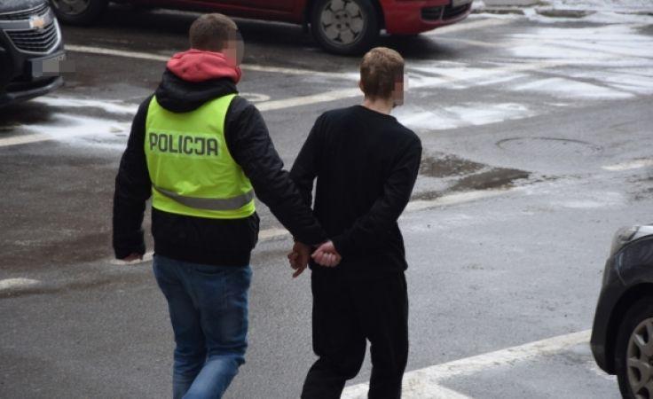 Sąd rejonowy w Elblągu aresztował 28-latka na trzy miesiące (fot. KMP Elbląg)