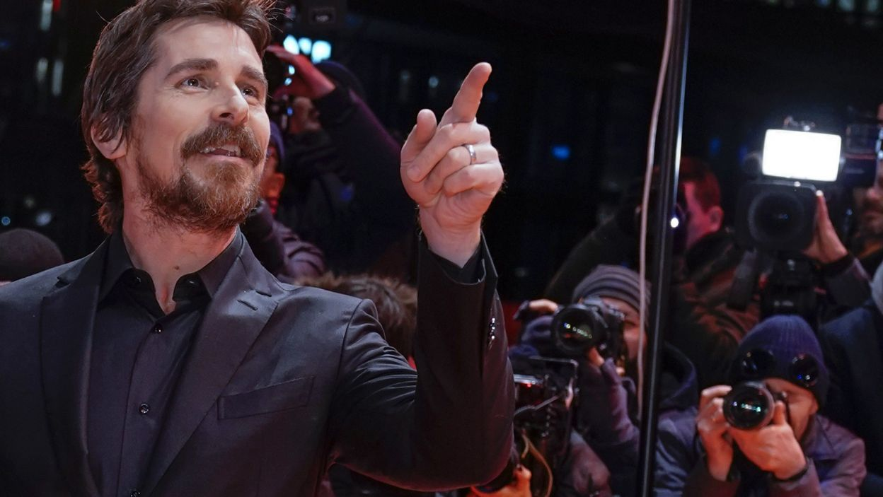 Christian Bale (fot. EPA/ALEXANDER BECHER )