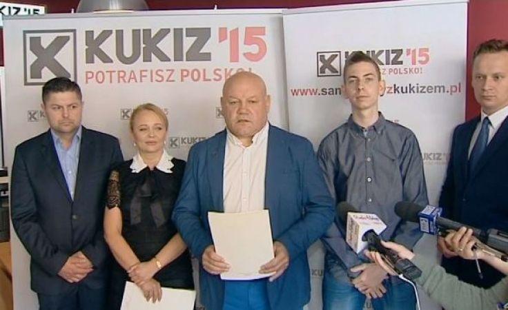 Andrzej Kobylarz podkreślał, że stowarzyszenie Kukiz'15 liczy na współpracę wszystkich obywateli