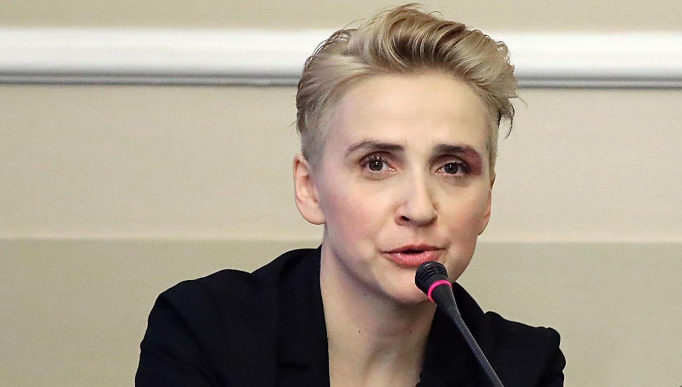 Posłanka Nowoczesnej Joanna Scheuring-Wielgus (fot. arch. PAP/Tomasz Gzell )