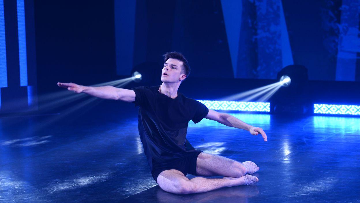 21-letni Patryk jest studentem PWST im. Ludwika Solskiego w Krakowie na wydziale Teatru Tańca w Bytomiu (fot. TVP/Jan Bogacz)