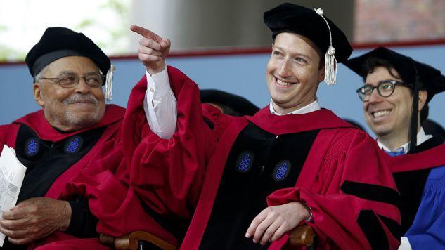Jeden z najbogatszych ludzi świata rzucił studia w 2005 roku (fot. PAP/EPA/LISA HORNAK)