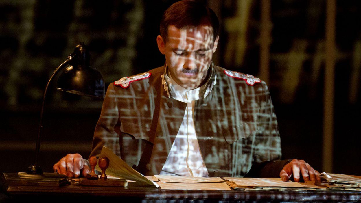 Głównym bohaterem jest ppłk Jan Kowalewski, który złamał szyfry Armii Czerwonej (fot. Mirosława Łukaszek)