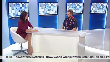 13.07.2018 - rozmowa z harcmistrzem Tomaszem Rejmerem