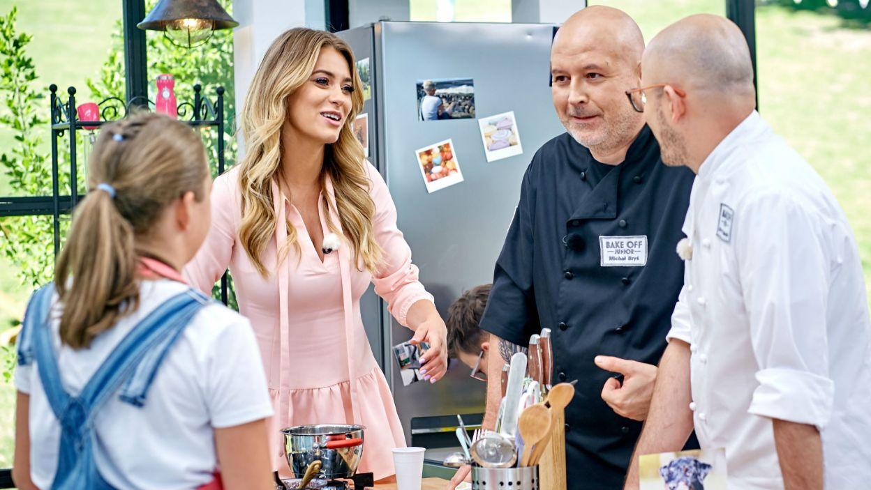 """Partnerować jej będzie stała bywalczyni kuchni """"Bake Off..."""" Marcelina Zawadzka (fot. TVP)"""