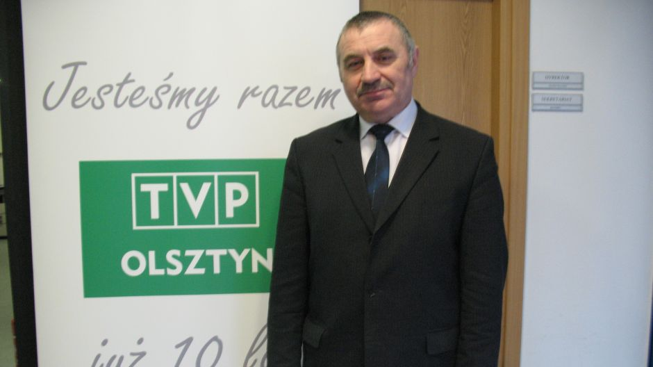 Antoni Parfinowicz,z-ca dyrektora W-M ODR w Olsztynie.