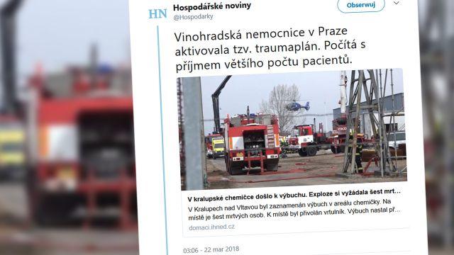 Wybuch w zakładach polskiej firmy w Czechach. Sześć osób nie żyje
