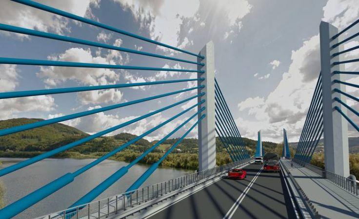Tak ma wyglądać nowy most w Kurowie (fot. GDDKiA)