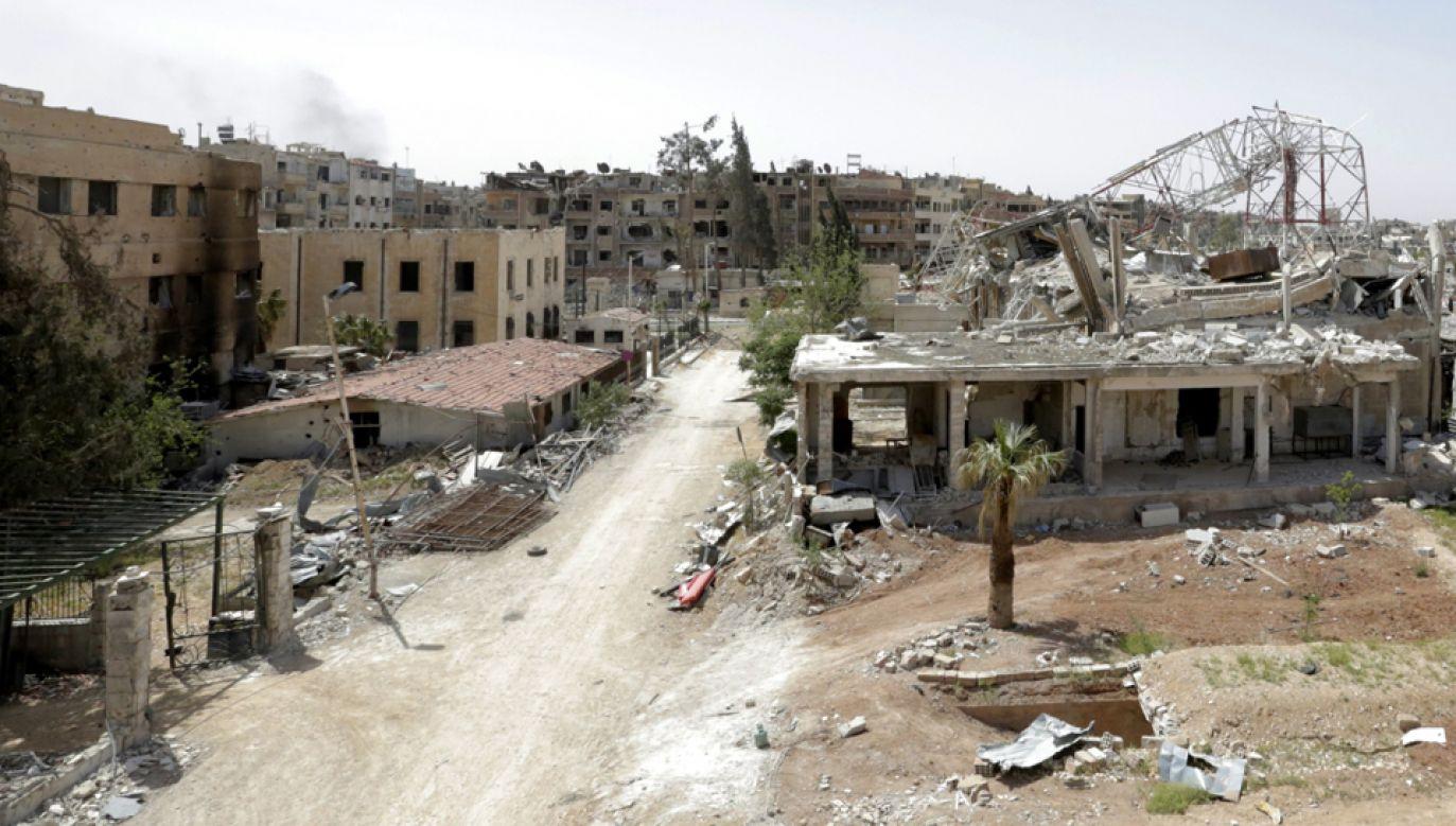 Polska na konferencji w Brukseli dotyczącej sytuacji w Syrii zadeklarowała 48 mln zł pomocy humanitarnej dla obywateli tego kraju  (fot. PAP/EPA/YOUSSEF BADAWI)