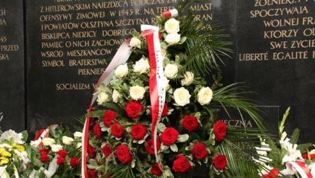 Olsztyńskie obchody zaczną się w czwartek o godzinie 12:00 na placu przed pomnikiem Armii Krajowej (fot. olsztyn.eu)