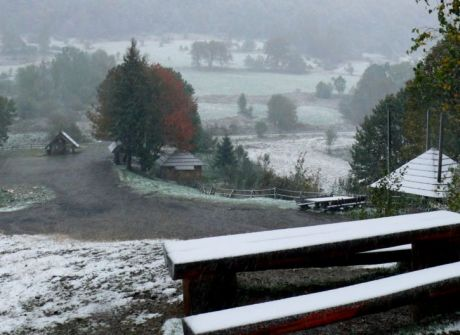 Mała zima w Bieszczadach