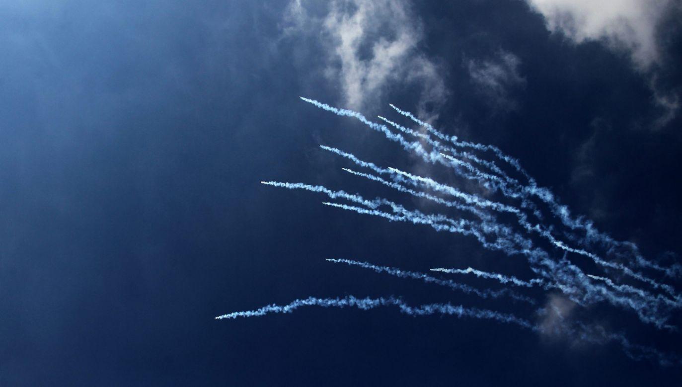 Rakiety wystrzelono na Strefę Gazy (fot. PAP/EPA/ALAA BADARNEH)