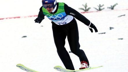 Retro igrzyska, pierwszy skok Małysza na dużej skoczni w Vancouver