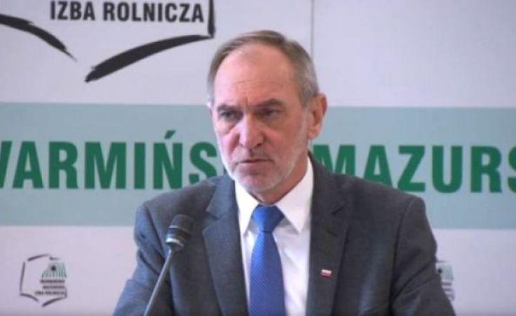 W sprawie Krajowego Ośrodka Wsparcia Rolnictwa głos zabrał wiceminister Zbigniew Babalski