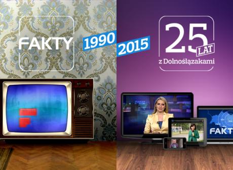 """""""Fakty"""" TVP Wrocław mają 25 lat!"""