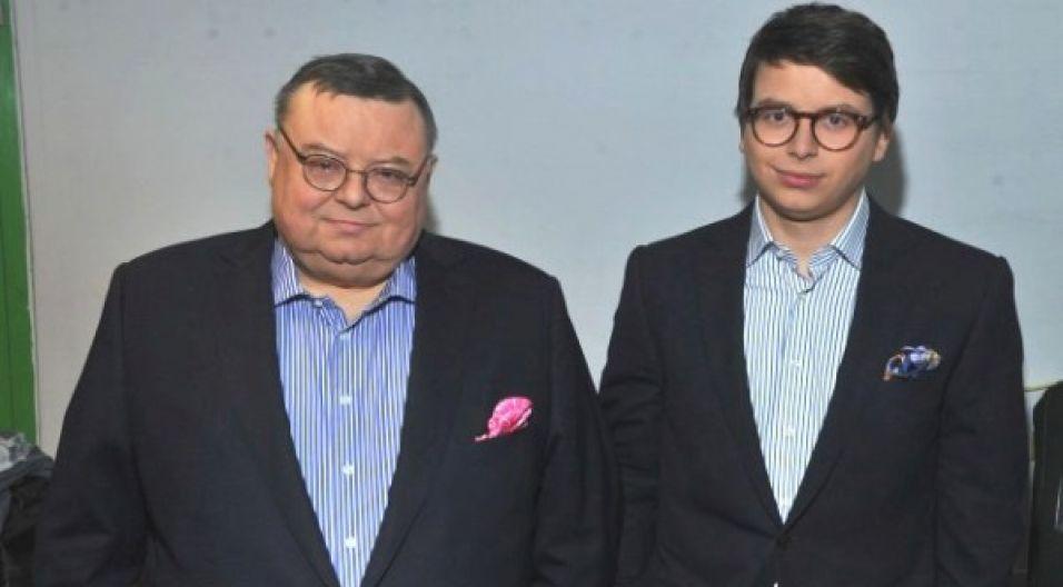 Wojciech Mann to doświadczony konferansjer, ale debiut jego syna, Marcina, wywołał spore zainteresowanie (fot. Jan Bogacz/TVP)