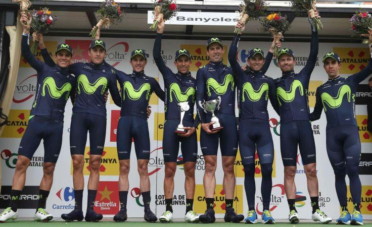 Zespół Movistar (fot. Getty)