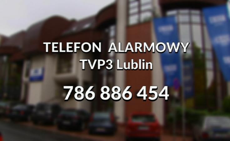 Telefon alarmowy TVP3 Lublin