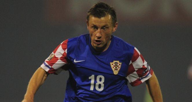 Ivica Olić strzelił jednego z goli w pierwszym meczu barażowym (fot. Getty Images)