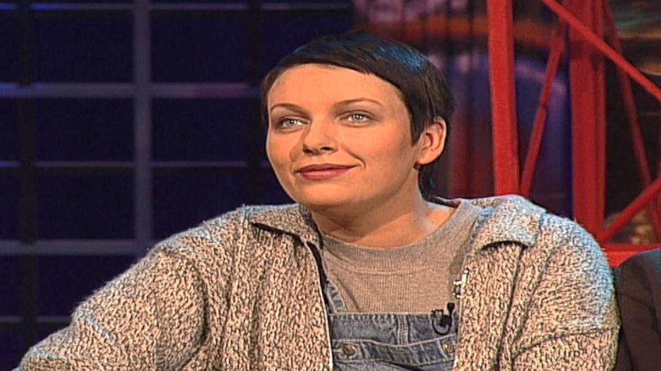 Katarzyna Nosowska (archiwum TVP Szczecin 1997)