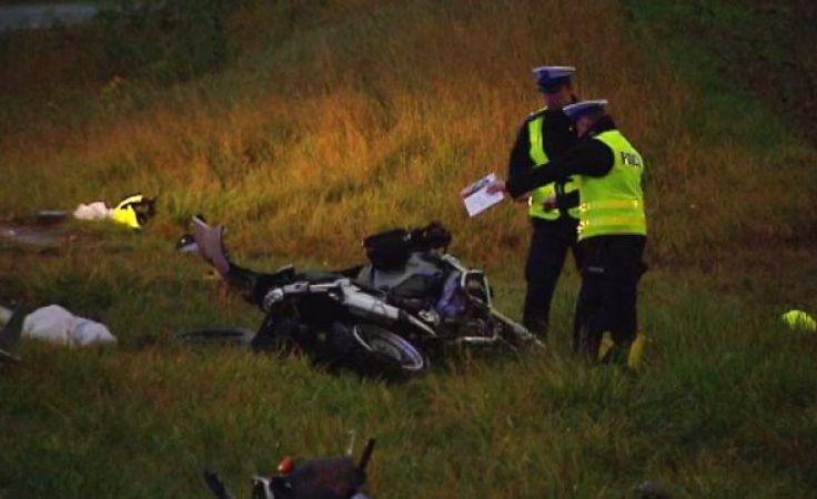 Kierował radiowozem, potrącił motocyklistów. Policjant skazany