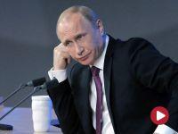"""""""Rosja nie napada, tylko broni swoich interesów narodowych"""". Putin na konferencji o działaniach militarnych [RELACJA]"""