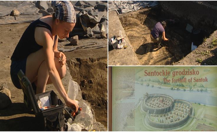 Kolejne odkrycia archeologów: chata z XI w. i wał
