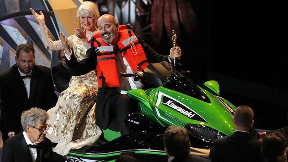 Mark Bridges zdobywca Oskara za najlepsze kostiumy (fot. REUTERS/Lucas Jackson)