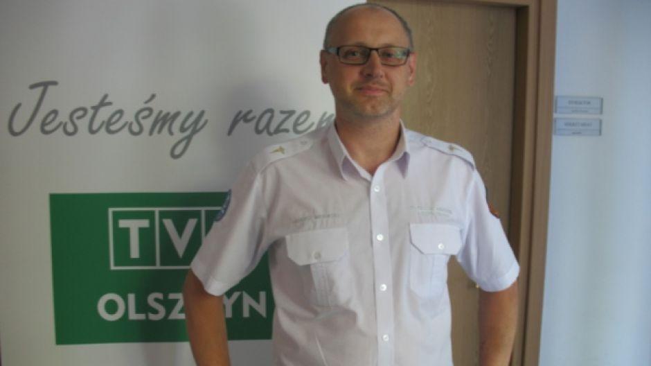 Tadeusz Miłowski, koordynator ratowników medycznych polikliniki MSWiA