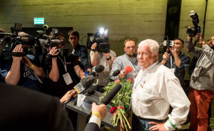 Krzysztof Łoziński nowym przewodniczącym KOD (fot. PAP/Tytus Żmijewski)