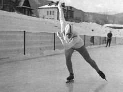 Elwira Seroczyńska zdobyła srebro na dystansie 1500 metrów (fot. PAP)