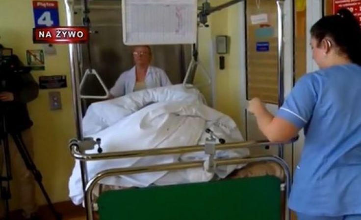 Z oddziału wywieziono we wtorek i środę wszystkich pacjentów, teraz bęa przyjmowani nowi