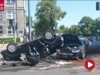 Groźny wypadek w stolicy. Cztery osoby trafiły do szpitala