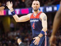 NBA: koniec serii Wizards. Dziewięć punktów Gortata