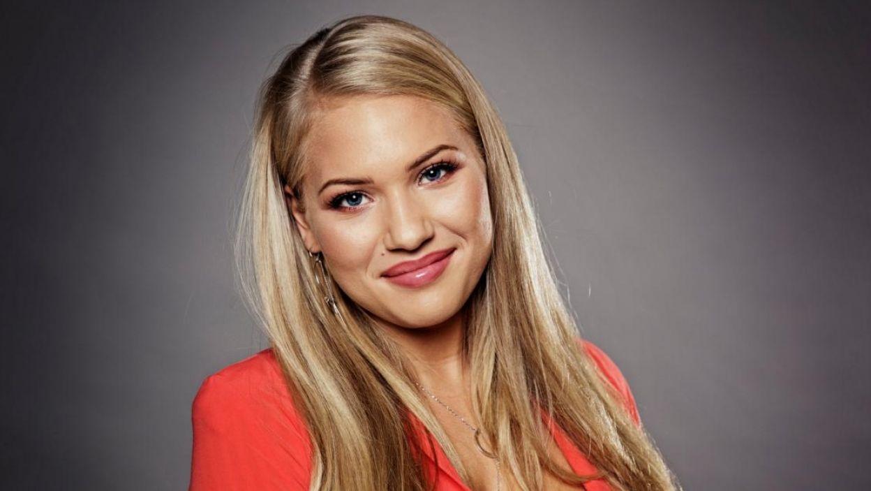 """Anja, Dania, reprezentując swój kraj w Eurowizji, spełnia marzenie z dzieciństwa. Zaśpiewa piosenkę """"Where I Am"""" (fot. Eurovision.tv)"""