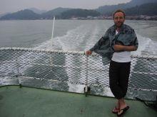 Łukasz opuszcza dziką i pustą Palau Pangkor w Malezji, już za kilkanaście godzin będzie w Kuala Lumpur