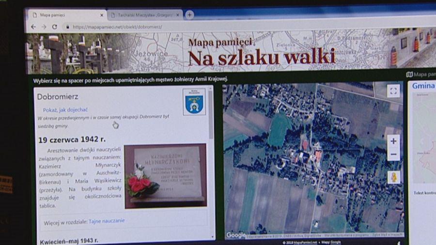 Lokalna Historia Na Wyciągnięcie Ręki Mapa Pamięci Od Jodły