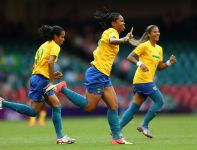 Brazylijki udanie rozpoczęły igrzyska (fot. Getty Images)