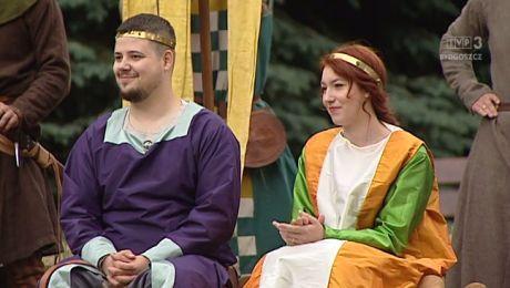Średniowieczny ślub na Zamku Bierzgłowskim